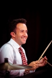 David Waller on drums